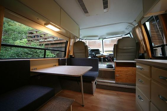Gmc Motorhome Modern Interior Google Search RV Pinterest