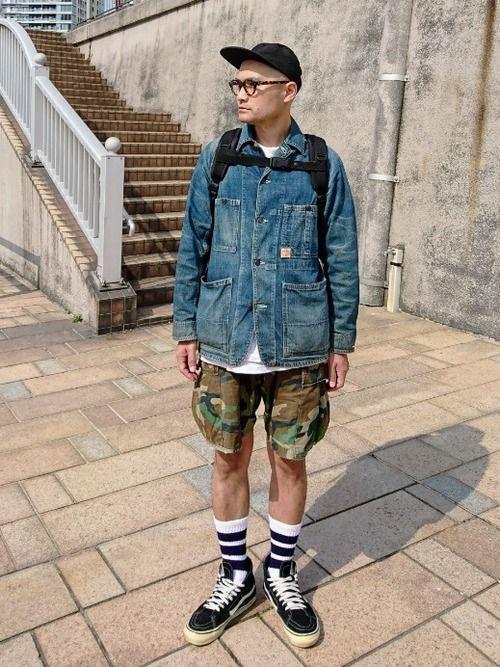 SancaのTシャツ・カットソーを使ったSHINJILOW のコーディネートです。WEARはモデル・俳優・ショップスタッフなどの着こなしをチェックできるファッションコーディネートサイトです。