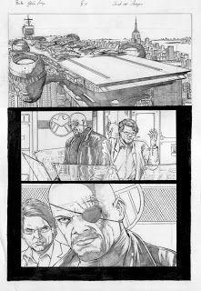 Gleidson Araujo: Avengers page 01
