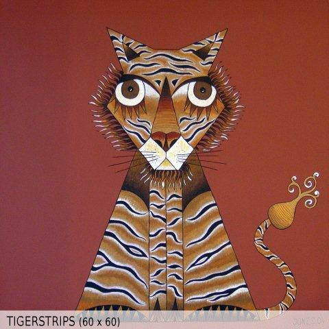 Tigerstrips (60x60)