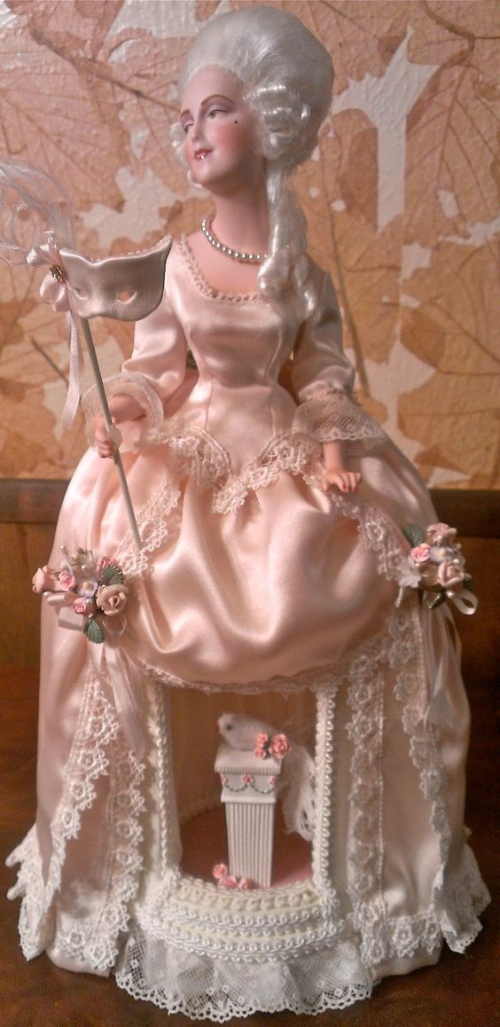 Marie Antoinette by Mary Gukich of MaryDallasDesigns on Etsy
