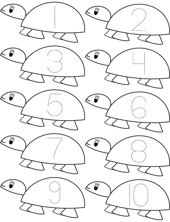 number and counting coloring pages | Pinterest • The world's catalog of ideas