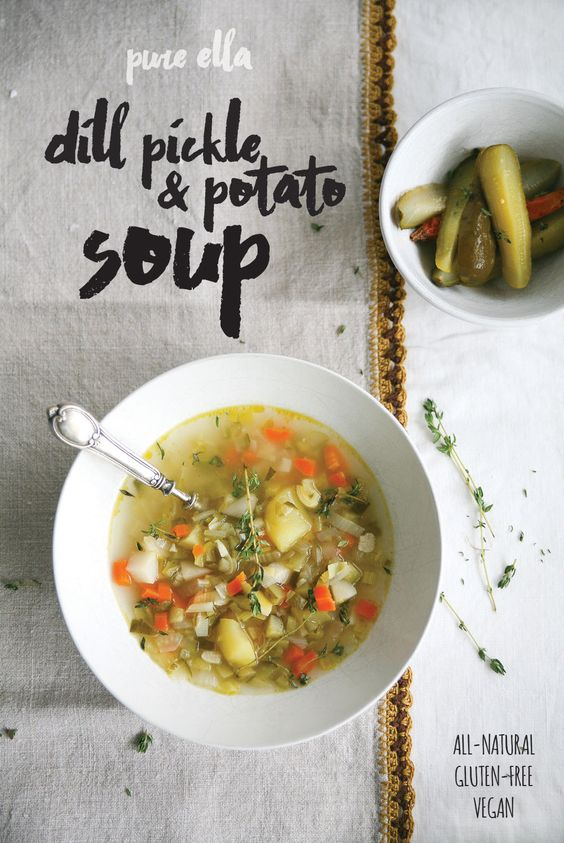 Dill Pickle & Potato Soup:
