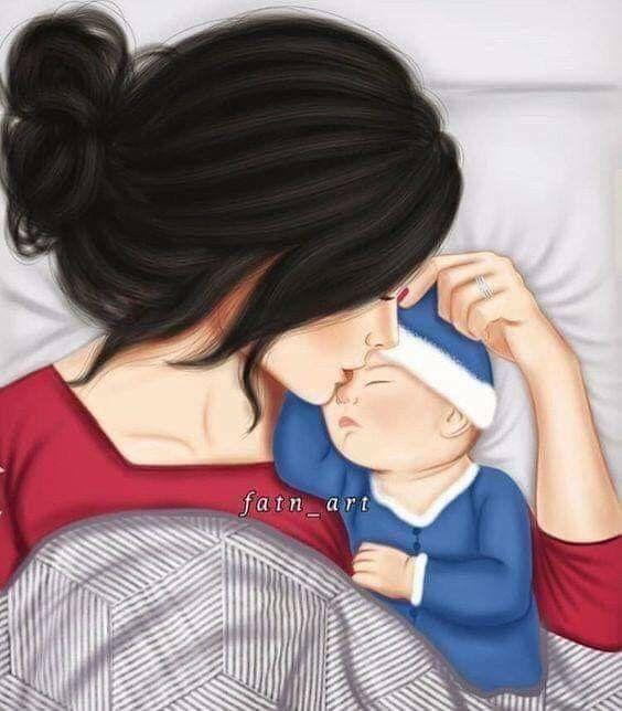 Pin De Gabriela Carolina En Bebe Diseno Madre E Hija Madre Arte