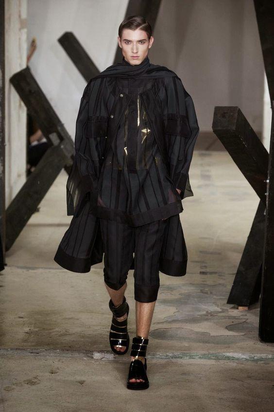 Songzio Spring/Summer 2015   Paris Fashion Week   Male Fashion Trends