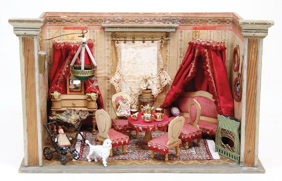 Ladenburger Spielzeugauktion | Art   Doll Houses | Pinterest | Doll Houses,  Miniatures And Dolls
