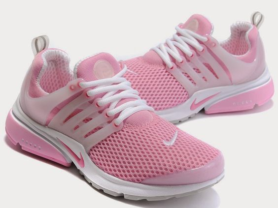 Womens Nike Air Presto 6 Charcoal Gray Pink White