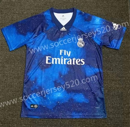 Limited Edition 2018 19 Real Madrid Starry Sky Blue Thailand Soccer Jersey Aaa 407 Soccer Jersey Real Madrid Soccer