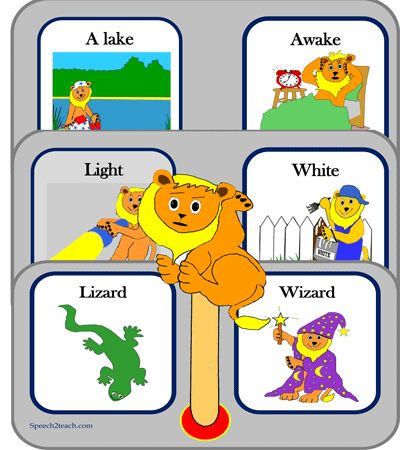 /l/ and /w/ auditory discrimination and speech articulation http://www.teacherspayteachers.com/Product/Listening-Lions-Listen-for-l-and-w-1206765
