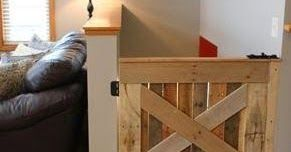 A Little Bit of This, That, and Everything: Pallet Baby Gate