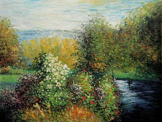 Corner of the Garden Montgeron by Claude Monet