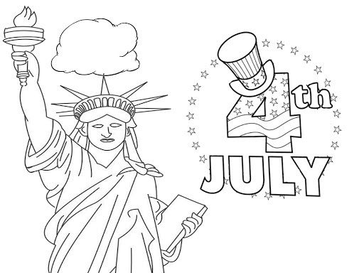 4th Of July Coloring Pages For Kids On This Independence Day Free Kids Coloring Pages Coloring Pages Unicorn Coloring Pages