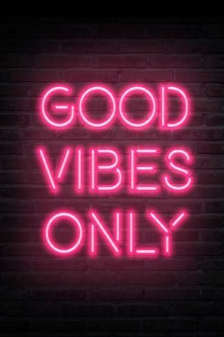 Good Vibes Only Pink Neon Art Print By Art Com Pastel Pink Aesthetic Neon Art Print Pink Wallpaper Iphone See more about pink, pastel and aesthetic. good vibes only pink neon art print