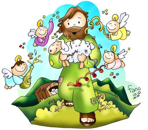 dios con sus ovejas