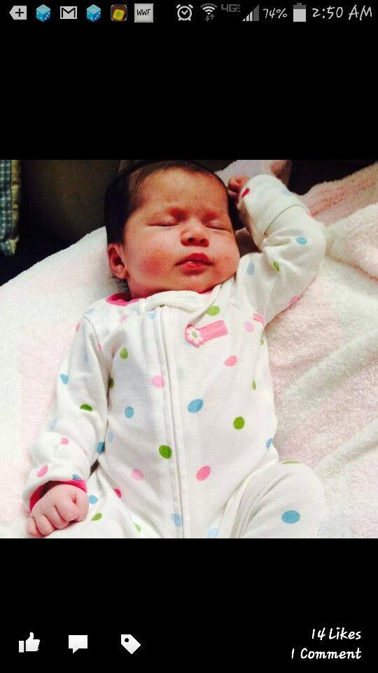 Adrianna Rose...Clair new sister.
