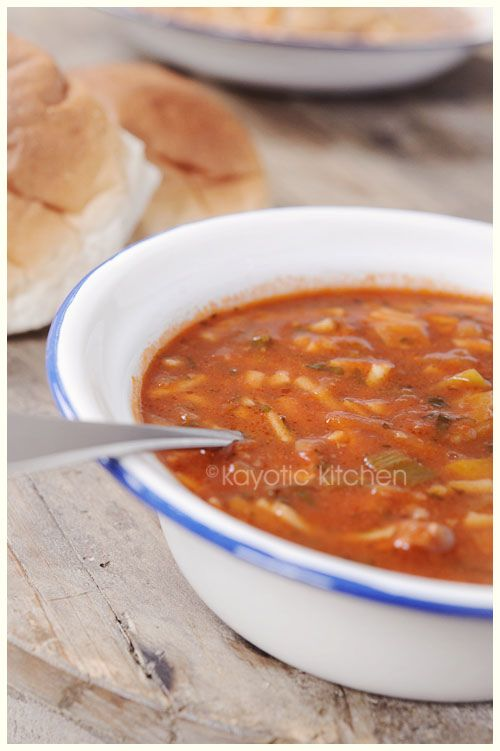 Grandma's Soup. The One & Only. (beef, vegetable, tomato, and ...