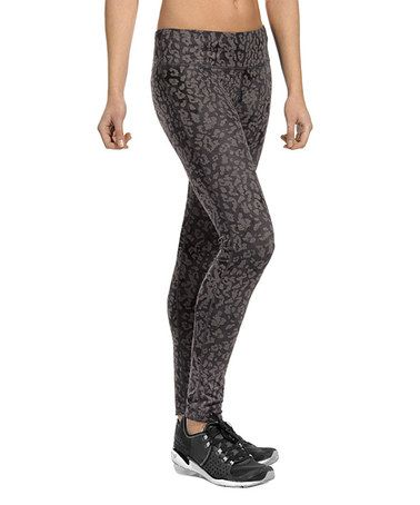 Look what I found on #zulily! Charcoal Cheetah Chase Leggings #zulilyfinds