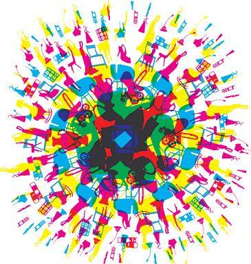 hsdfs: Design School, Design Google, Rainbow Colors, Room Design, Graphic Design Logos, Design Blog, Design Photos