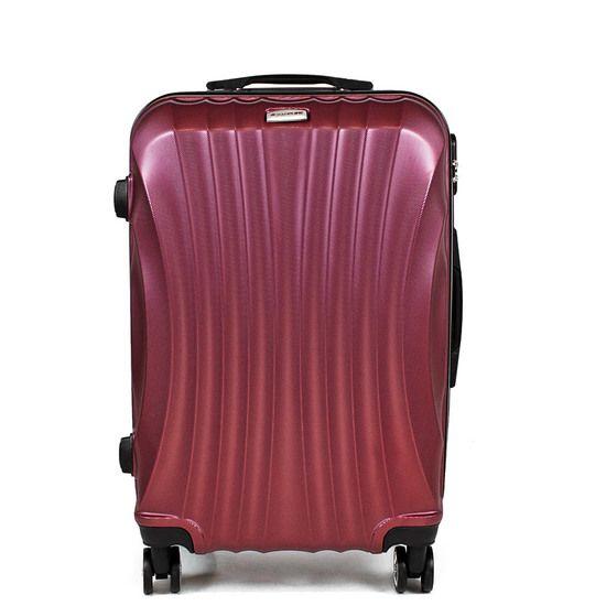 Walizka Na Kolkach Sapphire St 100 Fioletowa Duza Luggage Suitcase