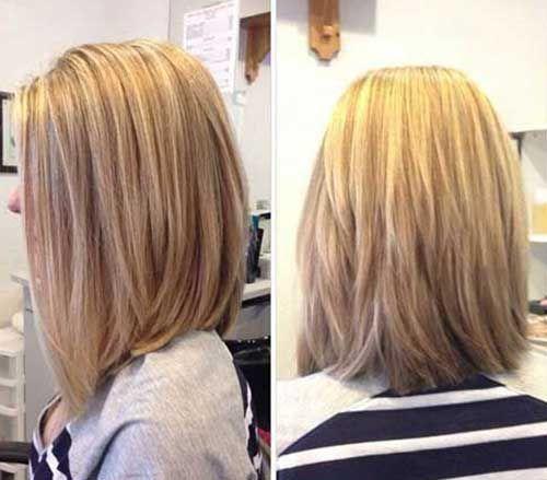 9.Long Bob Haircuts 2015-2016