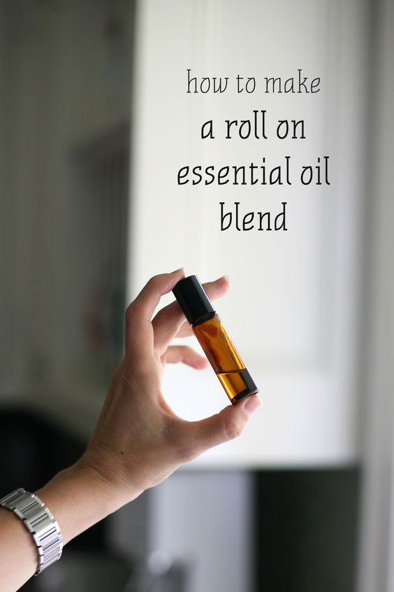 How To Make A Roll On Essential Oil Blend Pinterest