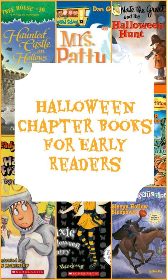 Halloween chapter books for early readers: