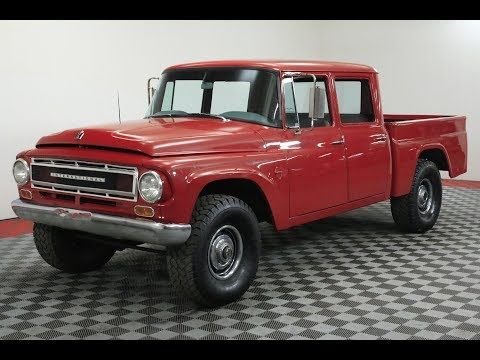 1966 International 1100 Crew Cab V8 4x4 Extremely Rare Collector