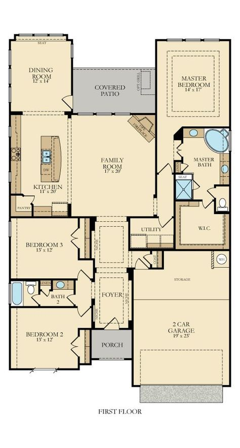 Pin By Sonja Spurlock On Ideas For Our Home New House Plans Bungalow House Plans House Blueprints