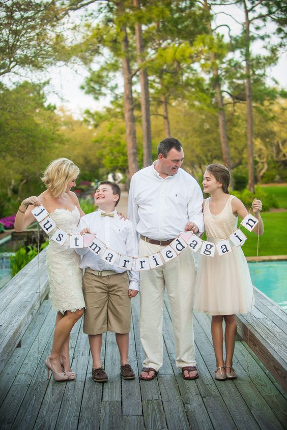 Just married, again. Seaside Vow Renewal at Watercolor Resort from Amanda Suanne  Read more - http://stylemp.com/sp4