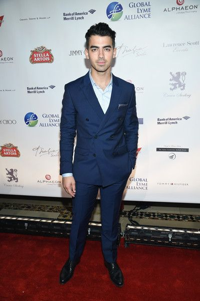 Joe Jonas - Global Lyme Alliance Uniting for a Lyme-Free World Inaugural Gala #suits