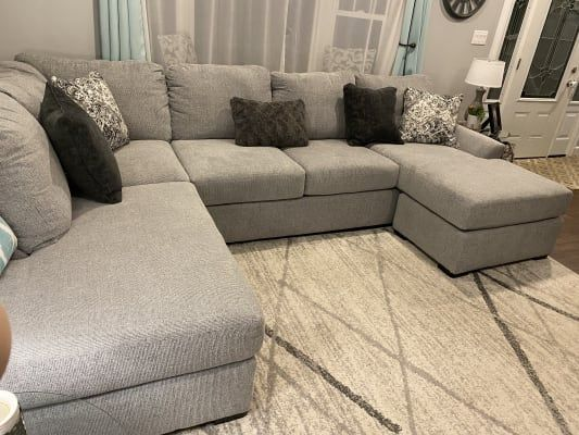 Broyhill Parkdale Sectional Big Lots In 2021 Big Lots Furniture Sectional Home Big lots living room decor
