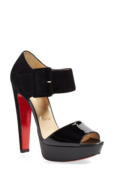 fake louboutins for sale - Women's Christian Louboutin 'Haute Retenue' Platform Sandal ...
