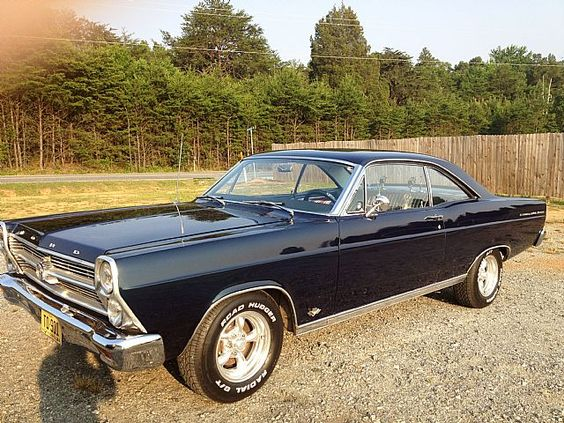 1966 Ford Fairlane....my dads could pull the front wheels of the ground :)