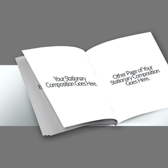 Download Free Mockup - Booklet - Booklets and Magazines Mockup Download
