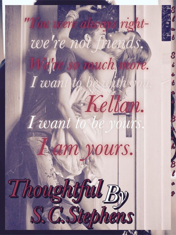 Thoughtful by SC Stephens art made by Katy.