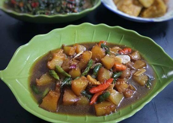 Resep Kikil Sapi Kecap Pedas Oleh Dina Ummu Khal Kitchen