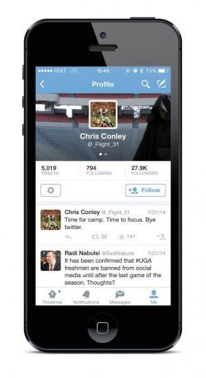 In the Spotlight, UGA Football Players Shy Away from Social Media