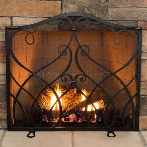 When Seeking A Fireplace Screen You Need To Take Into Consideration Performance Safety And Security And Style Yo Fireplace Doors Fireplace Screens Fireplace