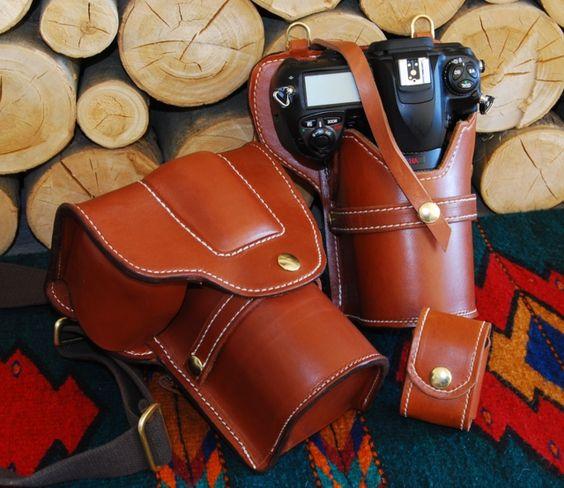 DSLR Leather Camera Case