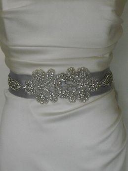 24 best sashes images on pinterest bridal sash bridal belts and diy beaded ribbon bridal sash looks so fun solutioingenieria Image collections