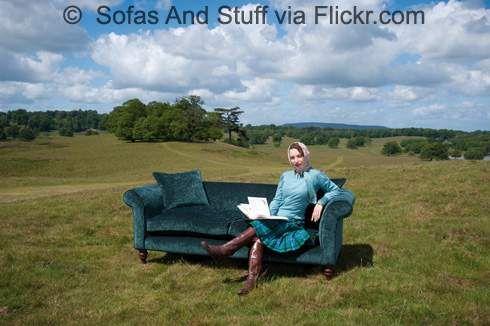 A fancy sofa