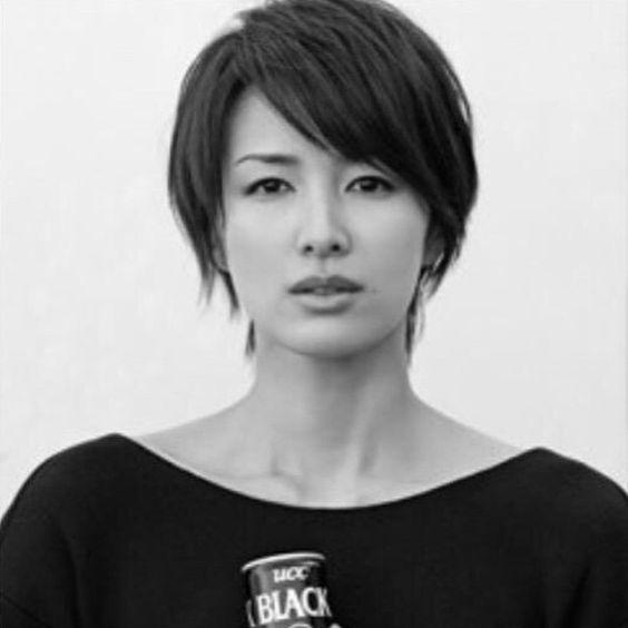 吉瀬美智子のショートヘア