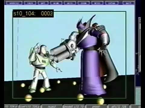 Toy Story 2 Buzz Lightyear Vs Emperor Zurg Deleted Scene With