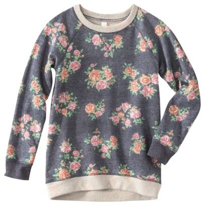 Xhilaration® Girls' Long-Sleeve Sweatshirt - Assorted | My artwork ...