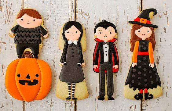 Postreadicción galletas decoradas, cupcakes y pops: Galletas de Halloween