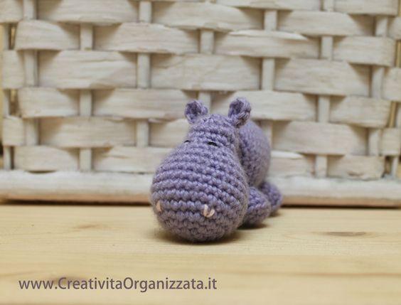 Tutorial amigurumi ippopotamo a uncinetto. Spiegazioni in italiano. #amigurumi #uncinetto #tutorial