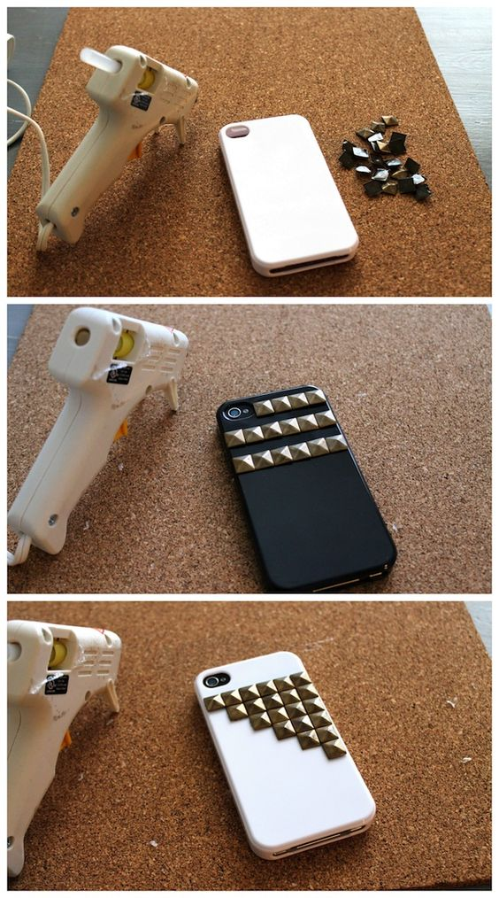Linen, Lace, & Love: DIY: Stud iPhone Cases