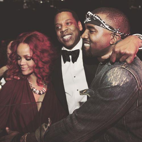 RiRi, Jay-Z, & Kanye