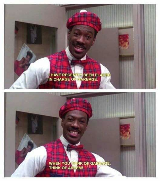 Eddie Murphy as Akeem - Coming to America, 1988