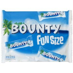 Syns Milk Chocolate Bounty Snack Size